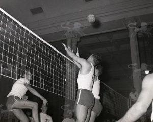 Column plaatje Volleybal in Beurs